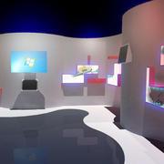 现代简约风格展厅柜台设计
