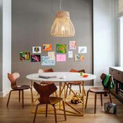 混搭风格餐厅照片墙设计