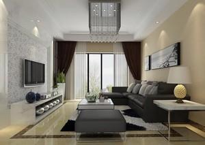 2015流行的各种精美款式客厅窗帘装修效果图