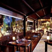东南亚风格酒店餐厅设计