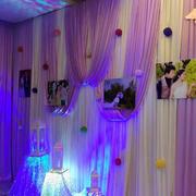 婚礼现场照片墙装修