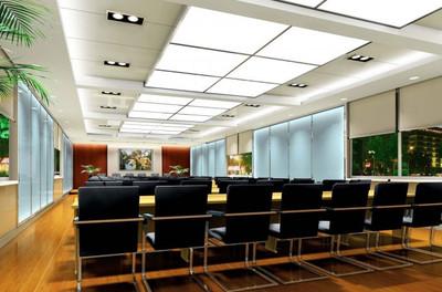 上市公司会议室设计装修效果图