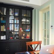 欧式书房橱柜装修