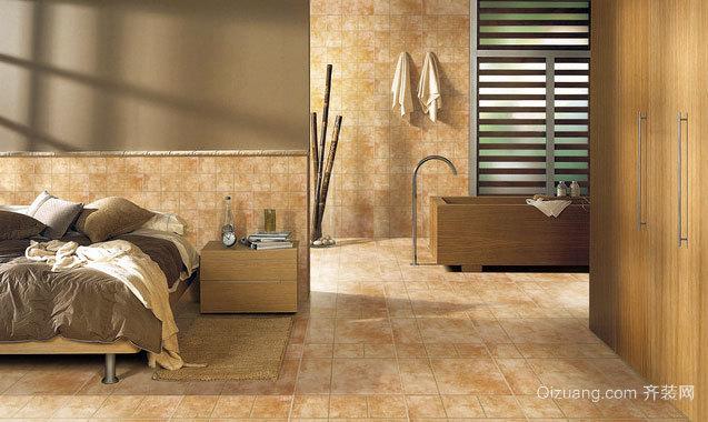 光滑的卧室地砖效果贴图