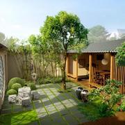 别墅花园绿化设计