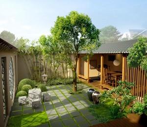 头上一片绿色:家居屋顶花园装修设计效果图