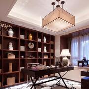 欧式风格书房桌椅设计