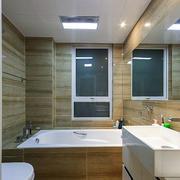 卫生间木制墙饰装修