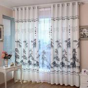 简约风格客厅窗帘设计