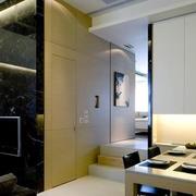 简约风格客厅隐形门设计