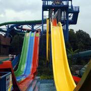大型游乐场滑滑梯设计