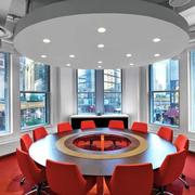 会议室原木设计