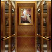 欧式电梯内部吊顶设计