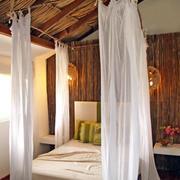 卧室床饰帷幔装饰