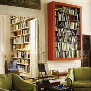 大型书房装修效果图