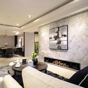 简约风格客厅墙面设计