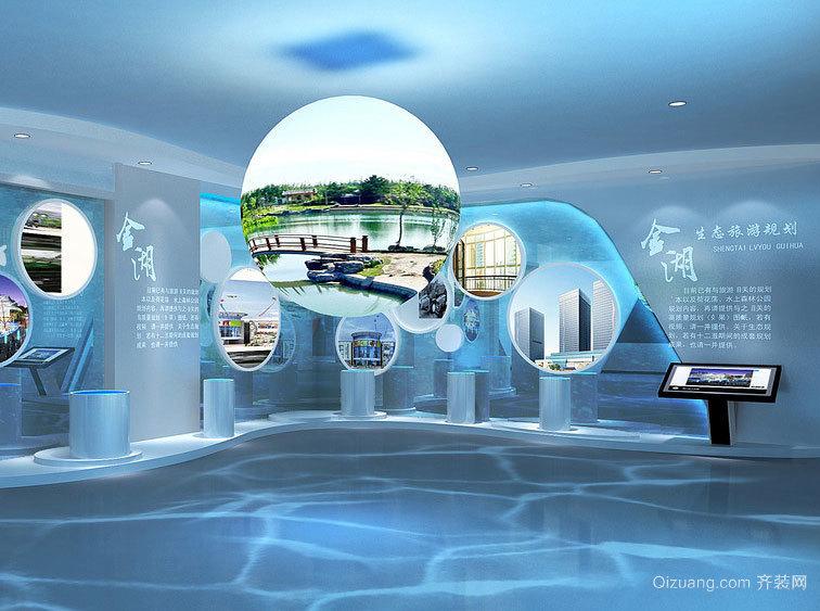 精致完美、规划到位的展厅设计效果图案例欣赏