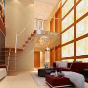 复式客厅装潢设计