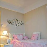 粉色系儿童房装修