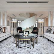 三室两厅创意拼桌设计