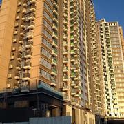 黄色调高楼装修设计