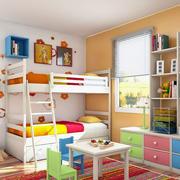 色彩欢快的儿童房装饰