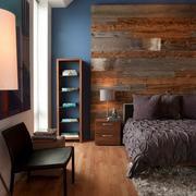 卧室原木桌椅设计