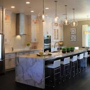 美式创意厨房灯饰设计