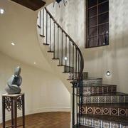 简约大气的楼梯扶手设计