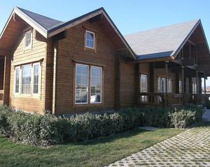 精致大方的实用木屋别墅效果图欣赏案例