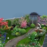 别墅花园凉亭设计