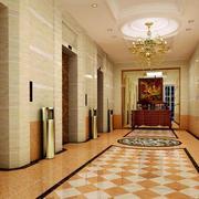 电梯出口环境装修