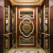 欧式奢华风格电梯装修