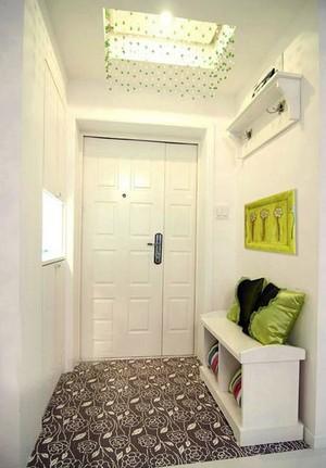 """一个家的""""脸面"""" 时尚家居进门门厅玄关装修效果图"""