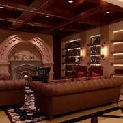 地下室酒柜装修设计