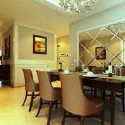 欧式奢华餐厅装修设计