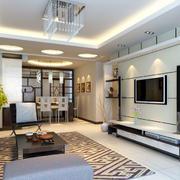现代风格室内客厅设计