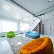 loft简约沙发装饰