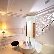 欧式简约风格地下室装修
