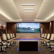 会议室电视墙装修设计