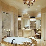 卫生间简欧奢华瓷砖设计