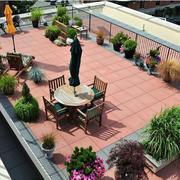 别墅花园休闲桌椅设计