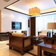 中式客厅古意灯饰设计