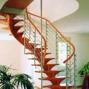 创意铁架旋转楼梯