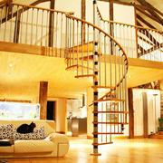 旋转式楼梯纤细扶手装修