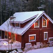 小型乡村别墅外观图