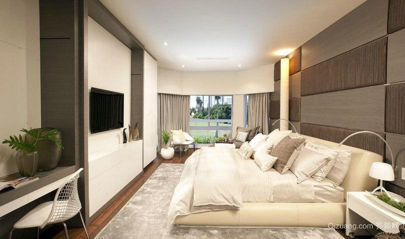 复式楼时尚气质卧室榻榻米装修效果图