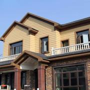 小别墅外观瓷砖效果图