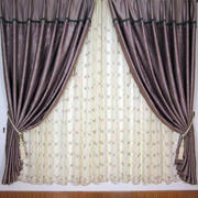 美式田园风格窗帘设计