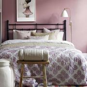 美式风格卧室床头灯饰设计